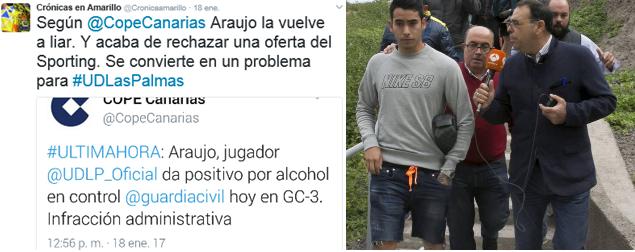 Sergio Araujo y sus problemas extradeportivos