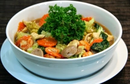 Resep Capcay Kuah, Masakan Chinese Food Spesial