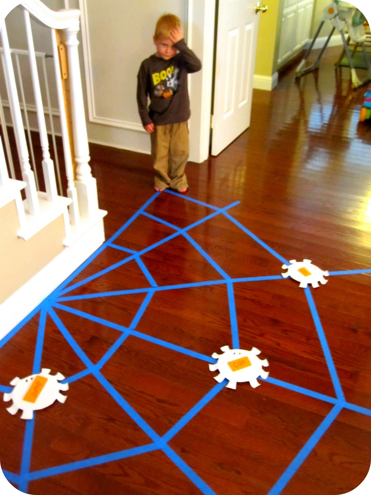 Toddler Approved Sight Word Spider Web