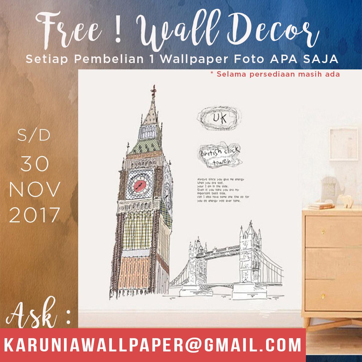 promo wallpaper dinding