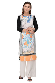 Allesia Crepe Kurti Alternative to W kurta