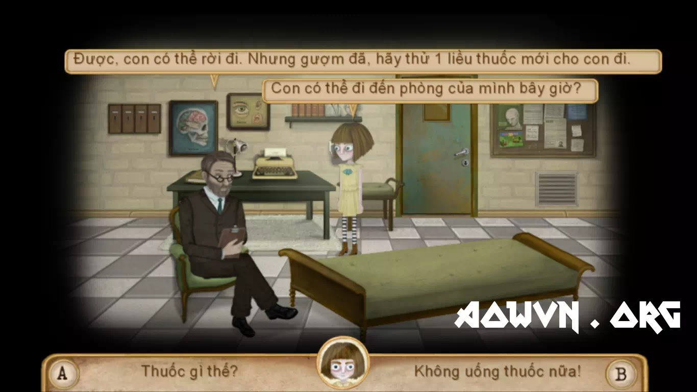 fran bow viet hoa game android ios aowvn%2B%25285%2529 - [ HOT ] Fran Bow Chapter 1 Việt Hóa | Game Android Giải Đố Kinh Dị Tuyệt Hay
