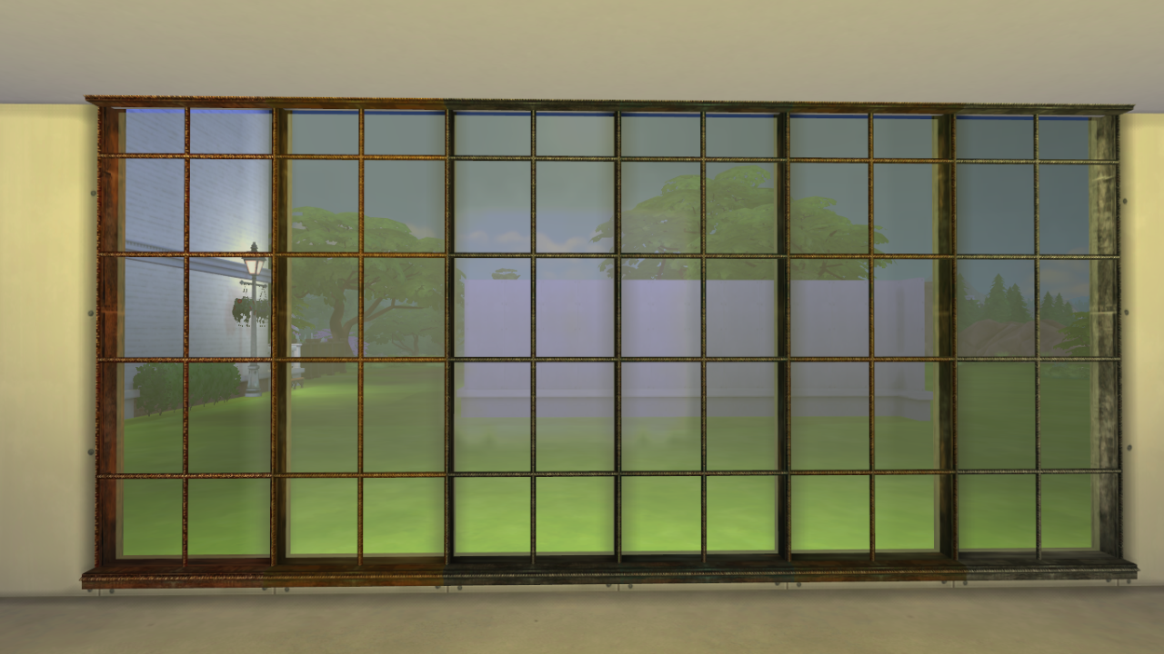 My sims 4 blog ts2 adele liam windows and wall cap by for Window design 4 by 4