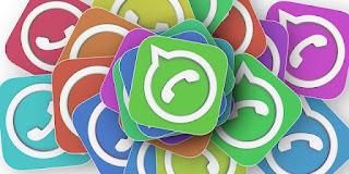 coloured whatsapp