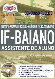 Apostila do IF Baiano Assistente em Administração para o Concurso 2016