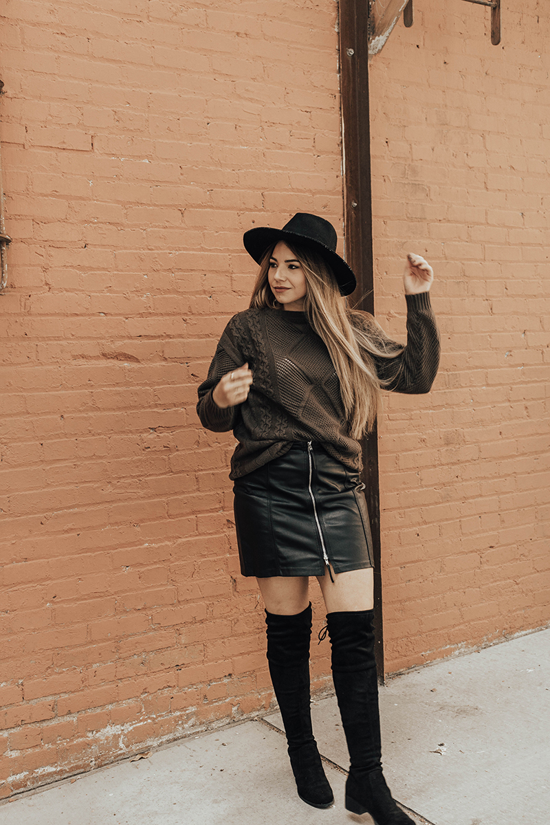 fashion blogger lauryncakes, lauryncakes, over the knee boots