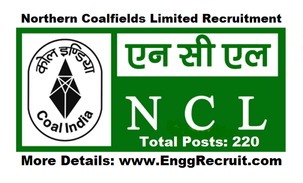 Northern Coalfields Limited (NCL) Recruitment