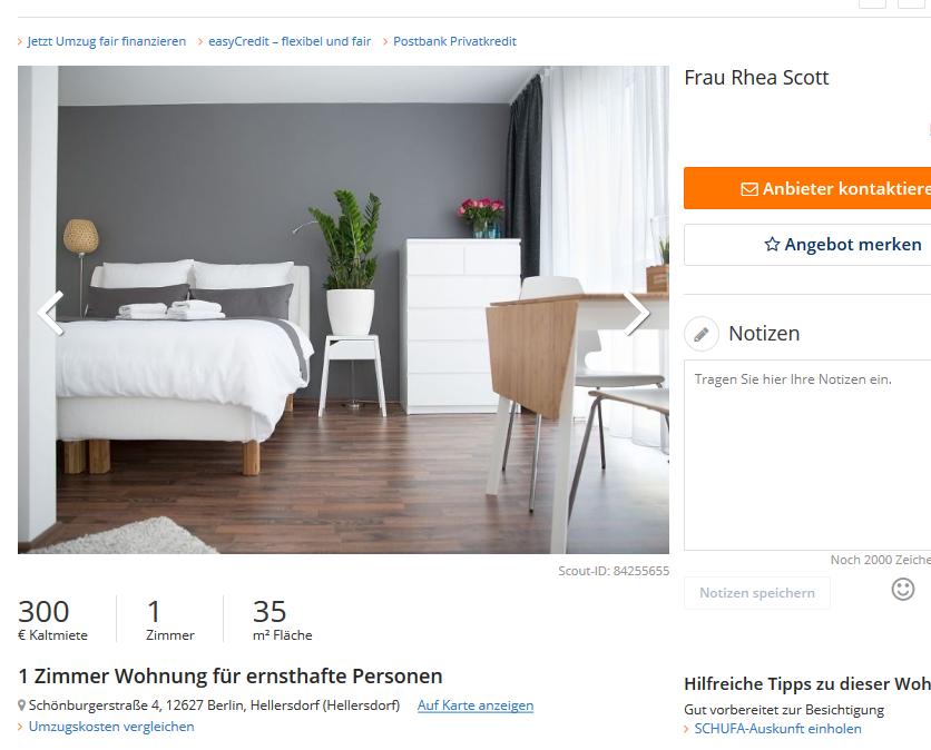rhea79 alias frau rhea scott 1 zimmer wohnung f r ernsthafte. Black Bedroom Furniture Sets. Home Design Ideas