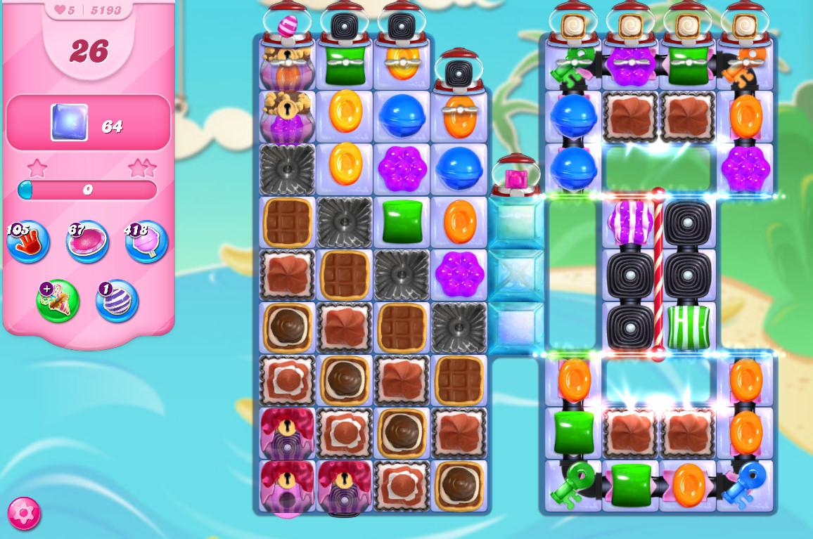 Candy Crush Saga level 5193