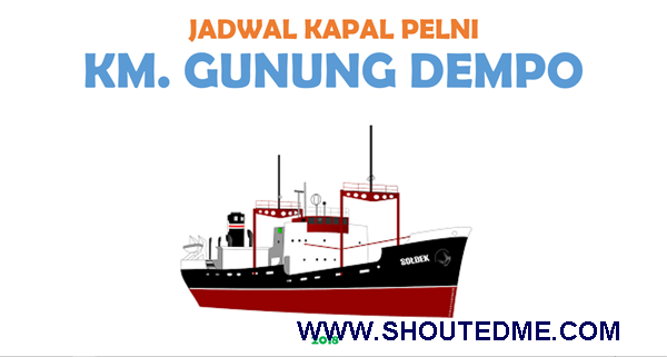 jadwal kapal gunung dempo