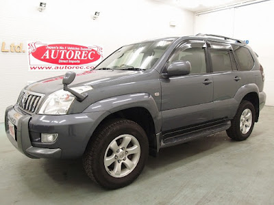 2004 Toyota Landcruiser Prado for DRC