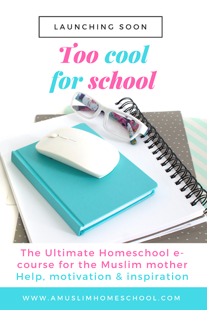 Homeschool e-course for Muslim mothers