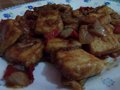 Easy Cooking : Tahu Teriyaki