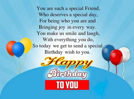 Happy Birthday Wishes | Quotes | Messages and Images from Girl to Her Best Friend Boy