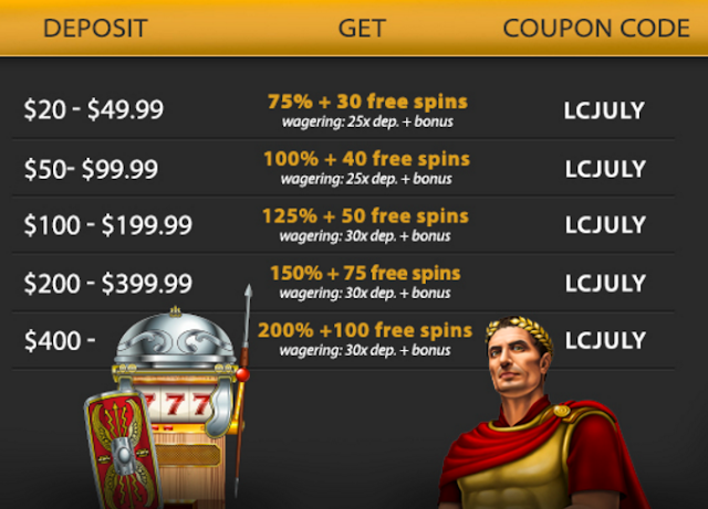 lucky club casino bonus
