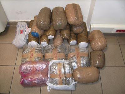 Συνελήφθησαν 2 άτομα με 50 κιλά χασίς