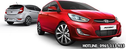 Hyundai accent hai phong