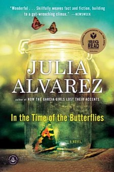 In the Time of the Butterflies by Julia Alvarez - book cover