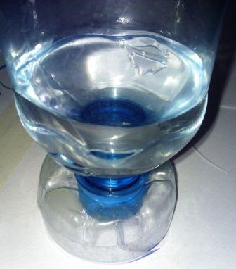 cara mengubah botol plastik jadi gelas
