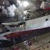Στις φλόγες το υπό κατασκευή τουρκικό αεροπλανοφόρο