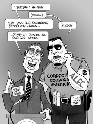 The Whited Sepulchre: On Privatized Prisons