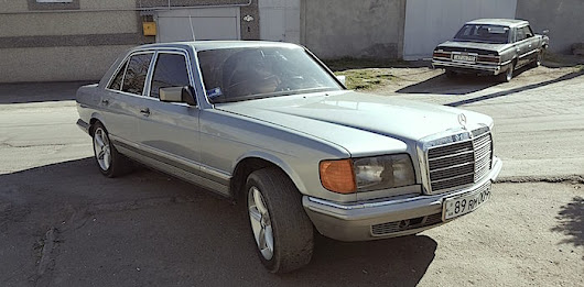 Mercedes-Benz W126 (Part 1)