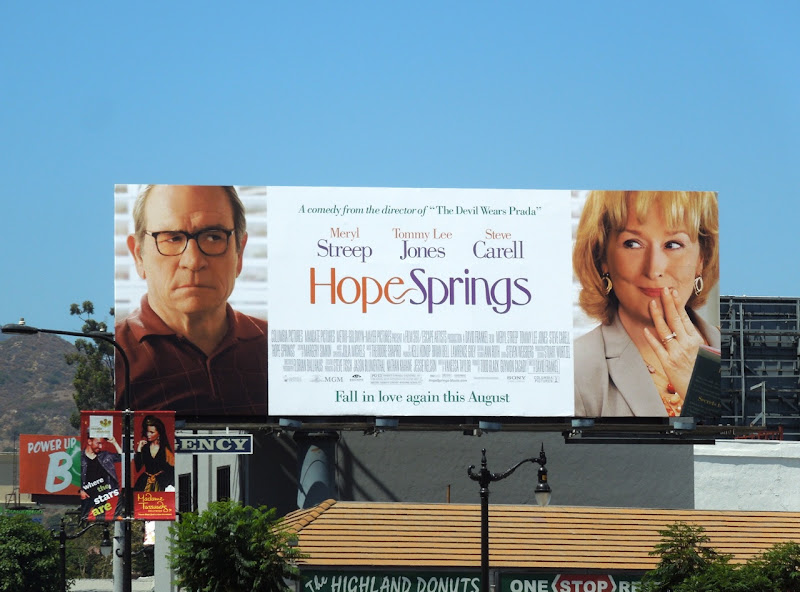 Hope Springs movie billboard
