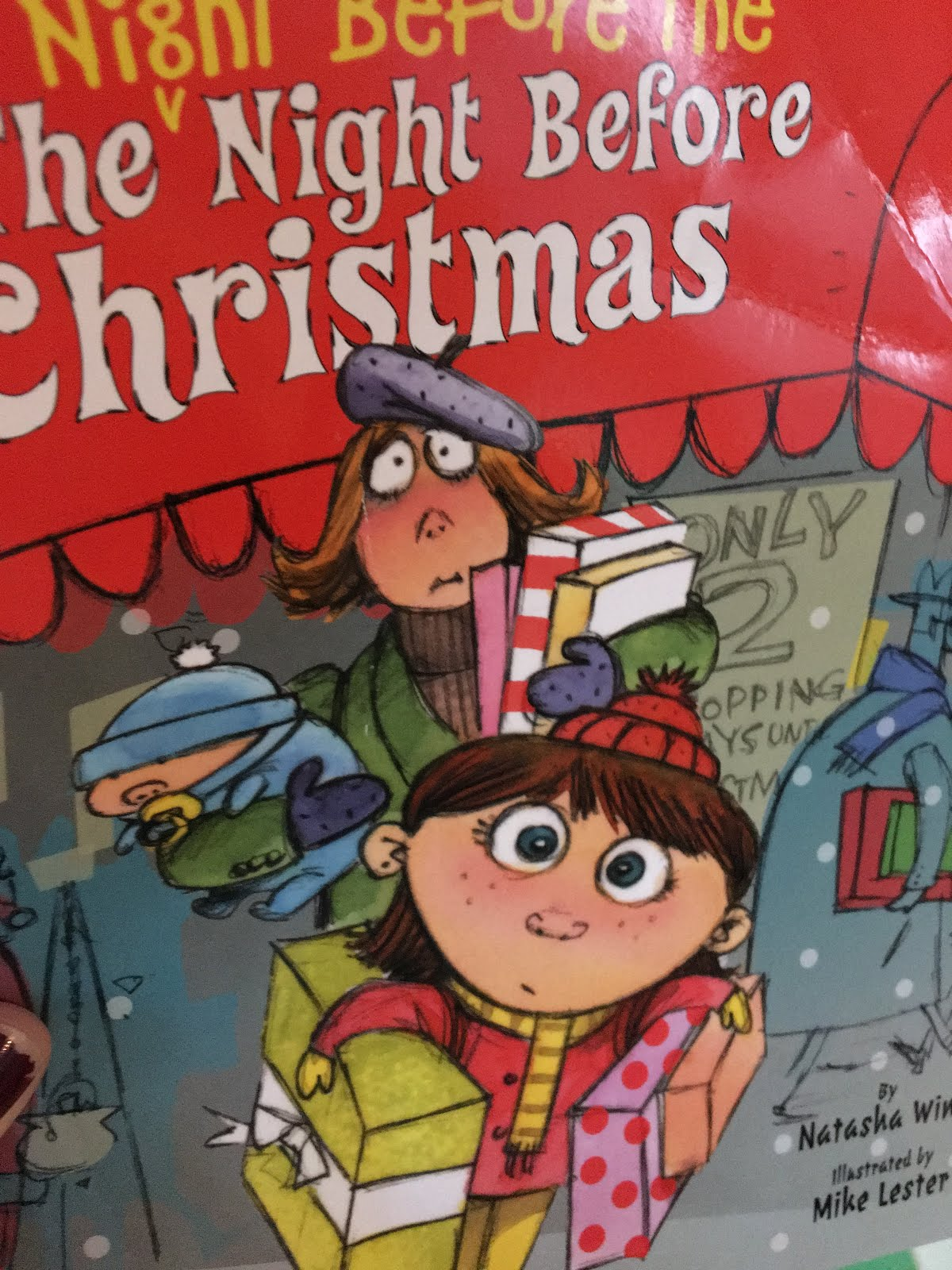 This Is An Adorable Book About How The Night Before Christmas Nothing Would Go Right For Family Unfortunate And Comical Things Kept Happening On