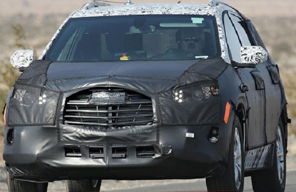 2018 Chevy Traverse Specs, Reviews, Redesign, Rumors, Change, Price, Release Date (Spy Shoot)