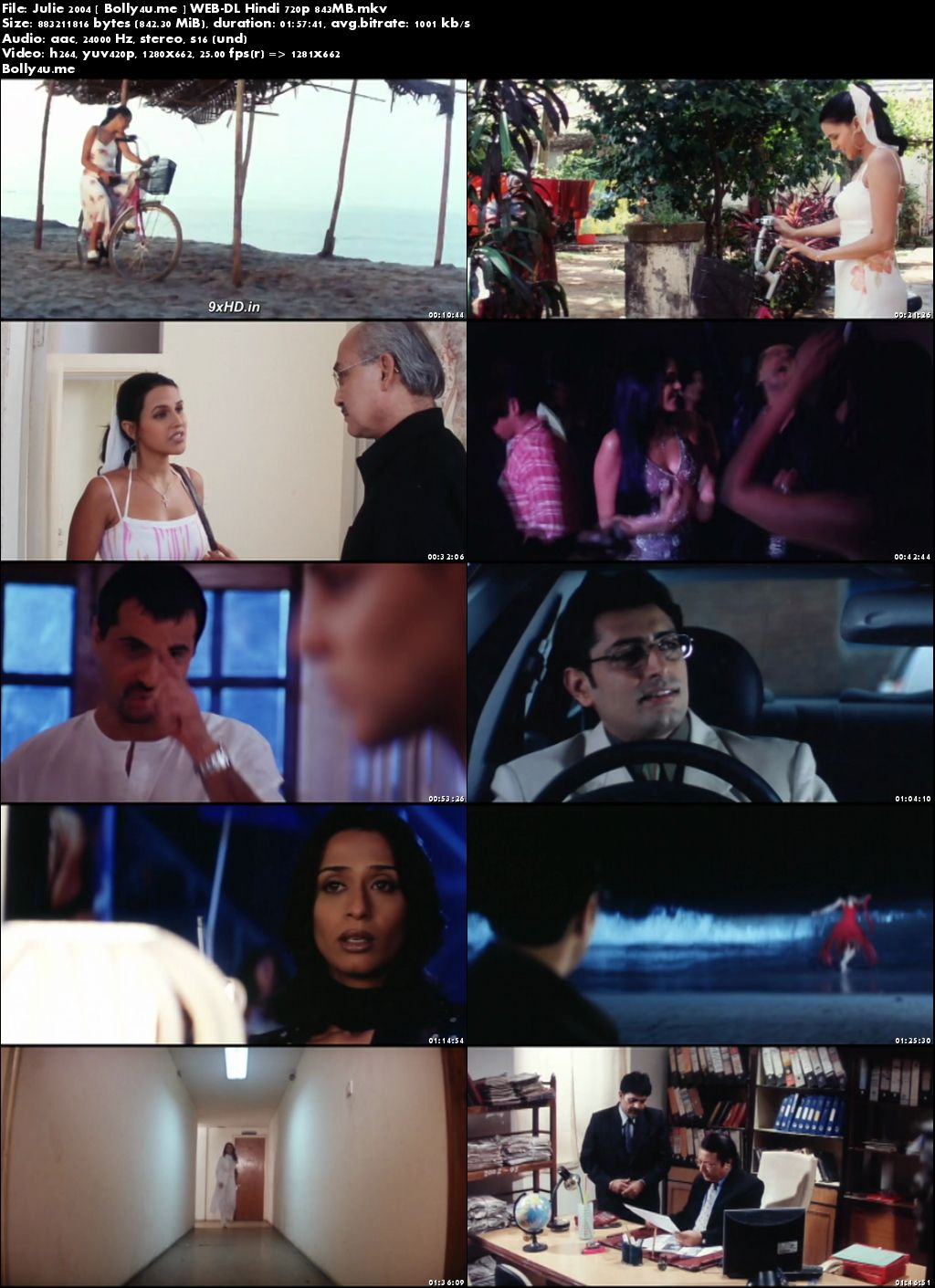 Julie 2004 WEB-DL 850MB Full Hindi Movie Download 720p