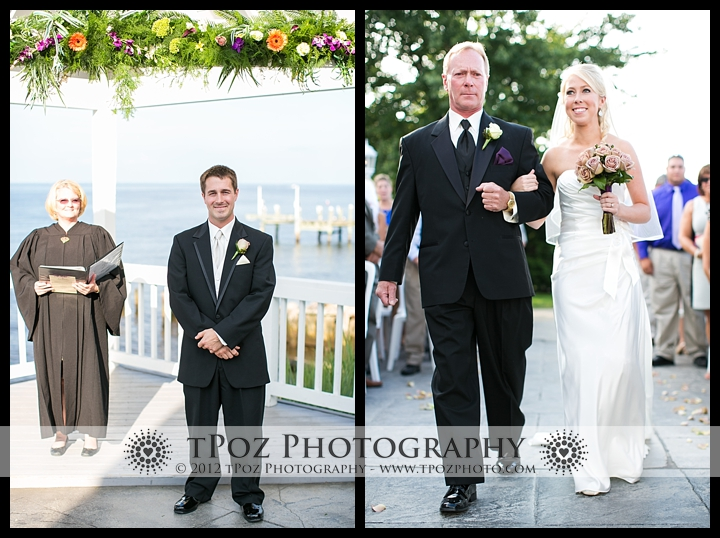 Kurtz's Beach Wedding Ceremony