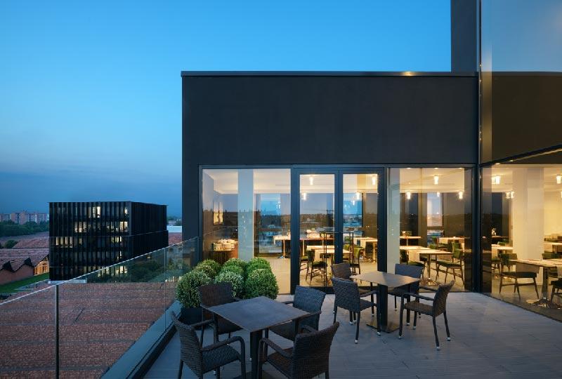 Il nuovo hotel 4 stelle in via Mecenate progettato da Piuarch