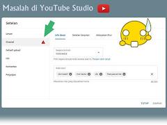 Cara Mengatasi Tidak Bisa Merubah Setelan Channel YouTube