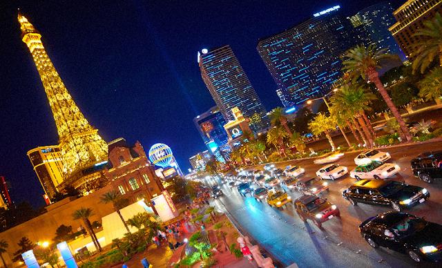 Ligações telefônicas em Las Vegas