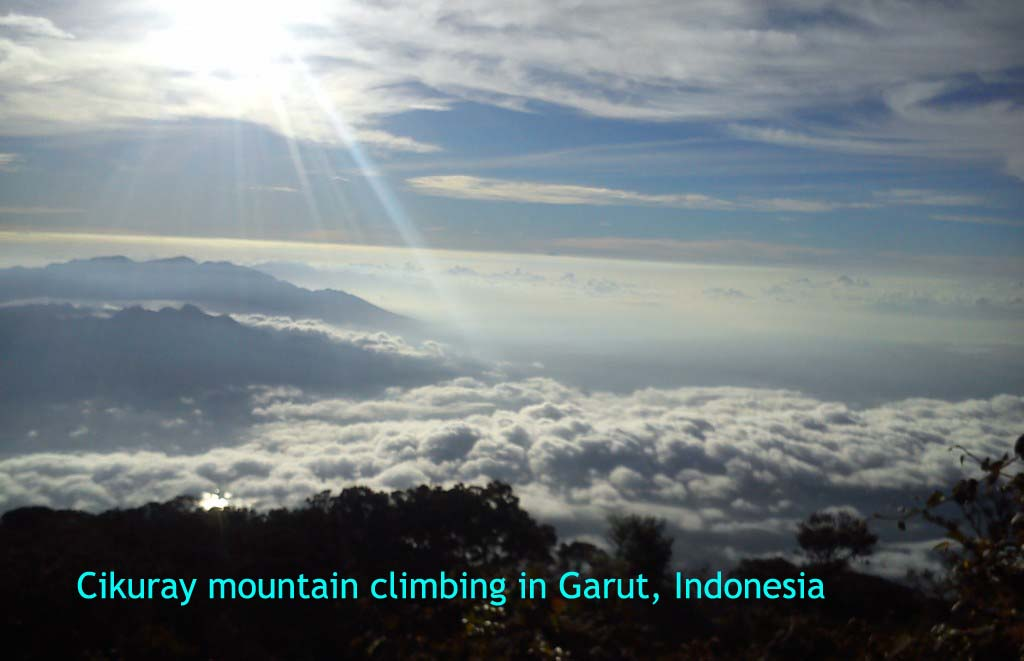 Cikuray Mountain Climbing In Garut Indonesia Traveled To Indonesia