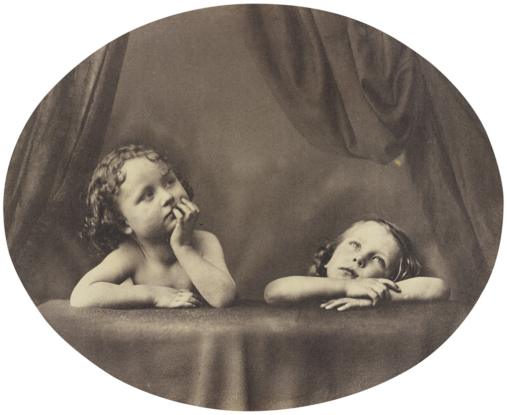 Non Angeli sed Angli by Oscar Rejlander - Victorian Giants exhibition, National Portrait Gallery, London