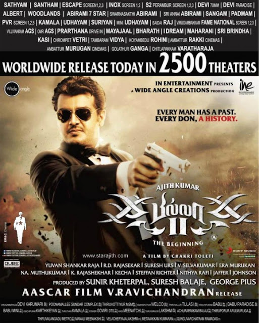 Ajith Kumar's Billa 2 Tamil Movie Review 4
