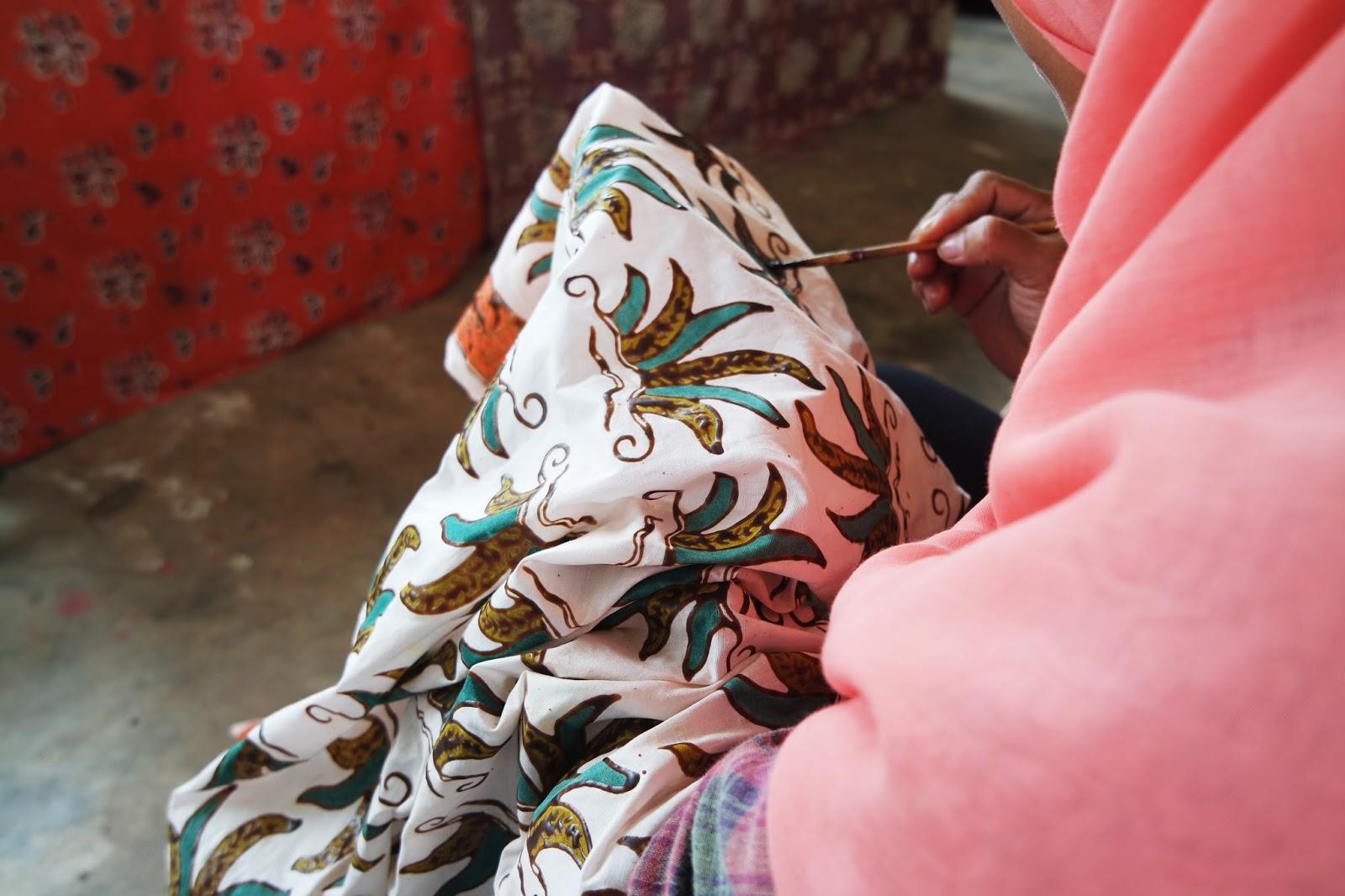 batik de simpor belitung timur