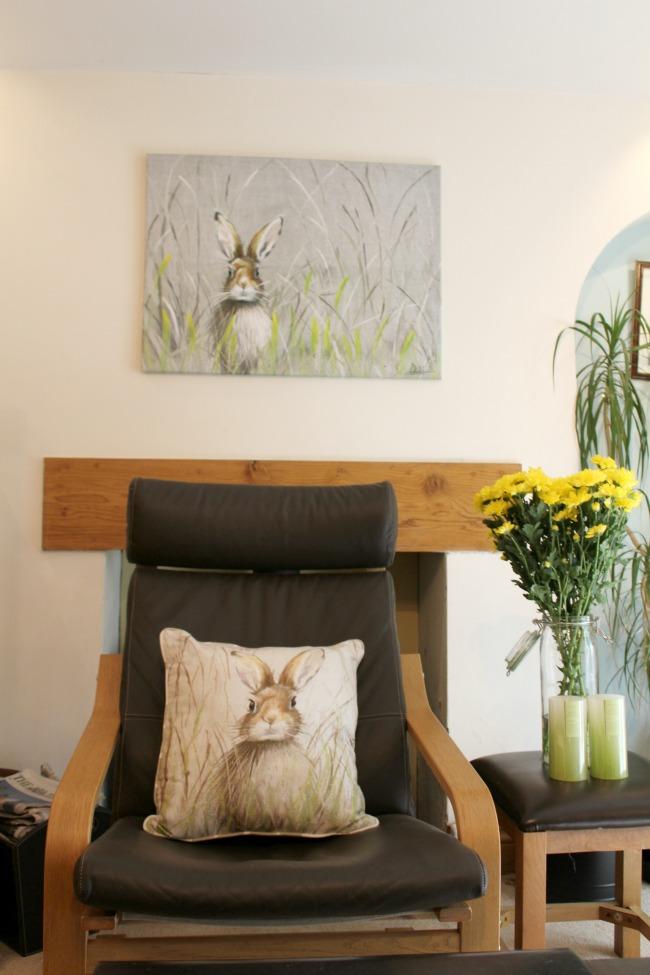 Giving my living area a summer revamp with Ocean Loans. Nourish ME: www.nourishmeblog.co.uk