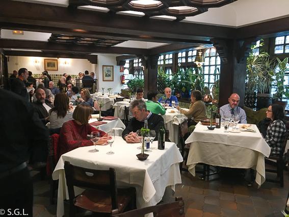 Comedor Restaurante Casa Ojeda en Burgos
