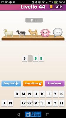 Emoji Quiz soluzione livello 44