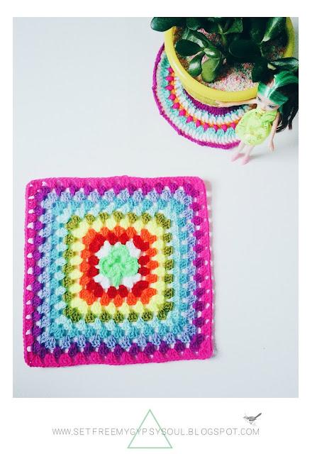 free shamrock clover crochet pattern granny square
