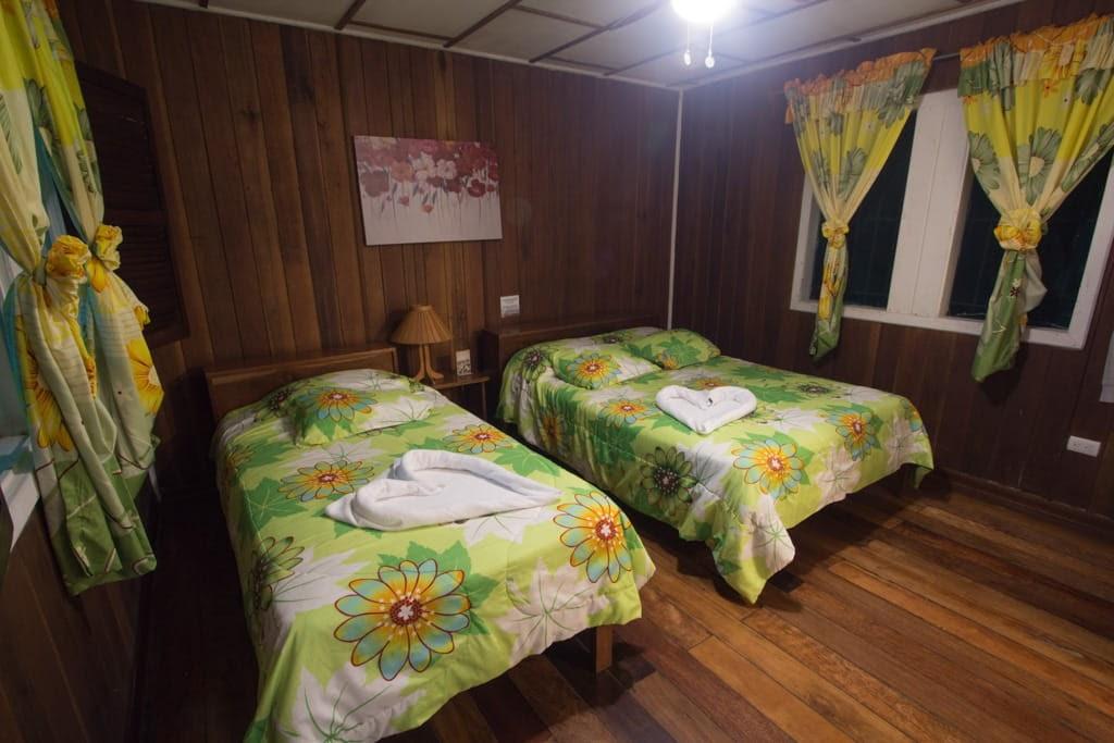 Habitación en La Baula Lodge, Tortuguero, Costa Rica