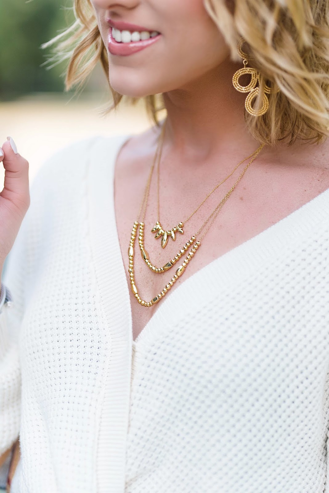 NSale Gorjana Necklaces - Something Delightful Blog