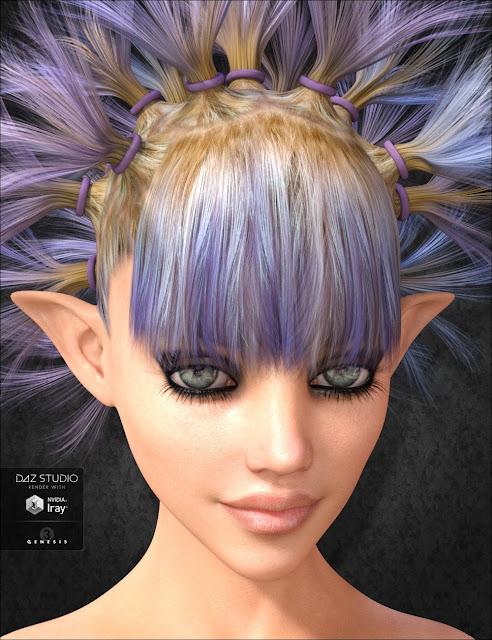 Dandelion Hair