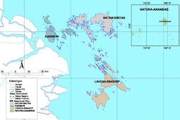 Peta Kepulauan Riau Lengkap, Gambar HD dan Keterangannya