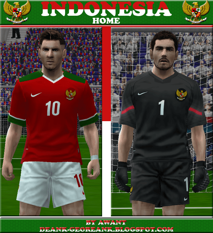 PES 6 Kit Timnas Indonesia By Awant ~ Glory PES 6