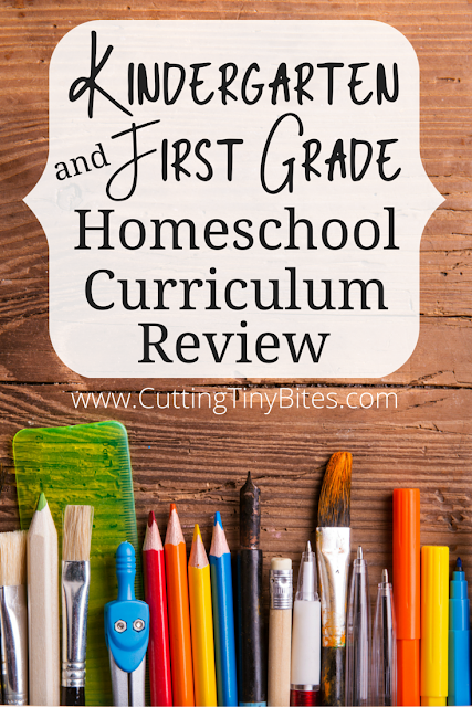 A review of the curriculum we used for our first year of homeschooling, a combined kindergarten and first grade year.