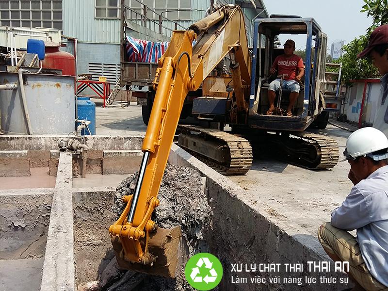 Quy định về xử lý bùn thải