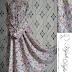 Baju Gamis Syari Motif dan Model Bunga GB0006